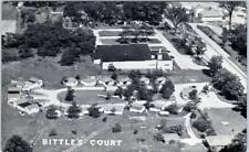 INDIANAPOLIS, Indiana  IN    Roadside  BITTLE'S TOURIST COURT  c1950s  Postcard