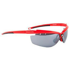 Spiuk Zelerix Cycling Sunglasses Red - Smoke Lens