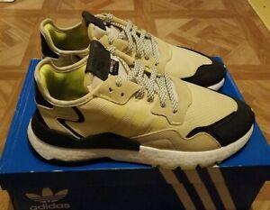 Adidas Originals Nite Jogger Boost EE5868 Men's 11 Easy Yellow/Black Brand New