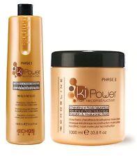 Echosline Ki-Power Duo-Shampoo 1000ml/33.8 Oz & Mask 1000ml/33.8 Oz