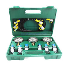 3 Gauge 6 Adapter Hydraulic Pressure Test Kit For Common Excavator With 2 Year Wty