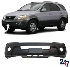 FRONT BUMPER WITH FOG LIGHT HOLES COMPATIBLE WITH KIA SORENTO EX 2006-2009