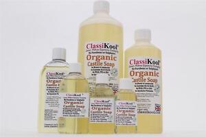 Classikool Organic Liquid Castile Soap: Fragrance-SLS- Free, Pure & Certified