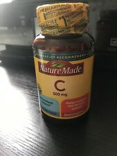 Nature Made Vitamin C 500mg 60 Softgels EXP 2/22