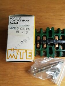 MTE UCO 5/10 CONTACT BANK SIZE 5 GREEN 01 2 5 NEW