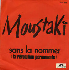 GEORGES MOUSTAKI SANS LA NOMMER / MOURIR FRENCH 45 SINGLE