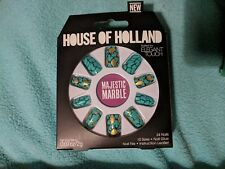 Elegant Touch House of Holland 24 Colored False Nails Majestic Marble brand new