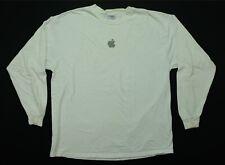 Rare Vintage APPLE Give Goose Bumps LS T Shirt 90s 2000s Tech Computer Promo XL