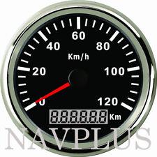 Schwarz Boot Auto GPS Tachometer Tacho Geschwindigkeitsmesser Sumlog Digital nov