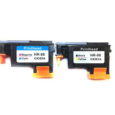 2pcs 88 Printhead compatible for HP 88 C9381A 9382A L7650 L7680 print head