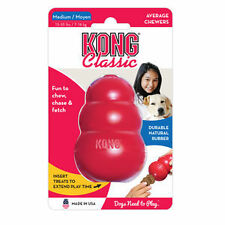 KONG CLASSIC MEDIUM Rubber Chew Toy For Dogs - World's Best Dog Toy (T2)