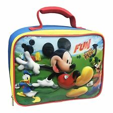 Disney Mickey Mouse Insulated Lunch Bag Box