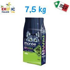 MONGE BWILD ADULT ALL BREED CINGHIALE  7,5 KG CROCCHETTE CIBO SECCO PER CANE DOG