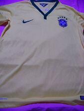 Nike DriFit Youth Brasil Brazil Soccer Jersey NWT XL