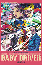 "Baby Driver ( 11"" x 17"" ) Movie Collector's Poster Print  (T2) - B2G1F"
