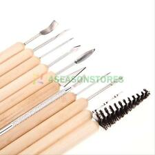 11pcs Clay Sculpting Set Wax Carving Pottery Tools Shapers Polymer Modeling