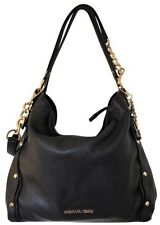 Michael Kors Studded Tote Designer Purse Shoulder Handbag Black Leather $398