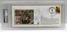 1994 ROCKETS NBA CHAMPIONS TEAM w/ OLAJUWON  SIGNED FDC CACHET PSA/DNA