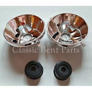 Mercedes W114 W115 European Headlight Reflectors Pair