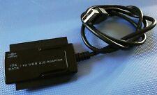 VANTEC CB-ISATAU2 SATA/IDE to USB 2.0 Adapter *for 2.5-Inch, 3.5-Inch, 5.25-Inch