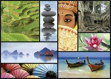 PUZZLE 1000 PIEZAS TEILE PIECES - COLORES DE ASIA - ASIA COLOURS EDUCA 16294