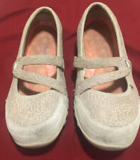 Skechers Mary Janes Cream Lace SN 23098