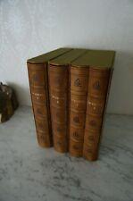 LE  CORAN  de GROJEAN   (français et arabe ) 4 VOL /edition 1972  Club du livre