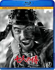 Seven Samurai : Akira Kurosawa - TOHO High quality Japanese original Blu-ray