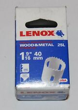 Lenox holesaw 40mm wood -metal