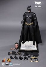 Hot Toys DX12 Dark Knight Rises Batman Bruce Wayne Christopher OPEN USED - MINT