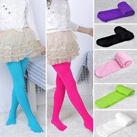 Girls Child Kids Tights Pantyhose Stockings Soft Velvet Ballet Dance Dress Socks