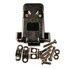2 D-Sub-Hauben 9-pol GP09GM SUB-D-Kappen Kunststoff metallisiert UNC 4-40 084620
