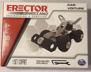 Meccano Erector Set Engineering Robotics Toys Learning Building Science Fun