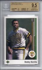1989 UPPER DECK #578 BOBBY BONILLA *BGS (9.5) GEM MINT* PIRATES , METS STAR