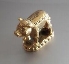 1 Pcs Feng Shui Brass Pig Handcraft Zodiac Career Lucky Success