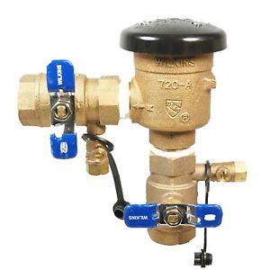 New OEM Wilkins Zurn 720 A PVB 1 Inch Pressure Vacuum Breaker Complete Unit