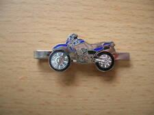 Tie Clamp Yamaha XT 600/XT600 Blue Motorcycle Enduro Item 0031 Moto