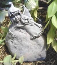 "Latex small fairy mold plaster cement mold 3"" x 3"""