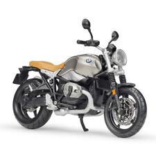 Maisto 1:12 BMW R nineT Scramble Motorcycle Model Bike Silver