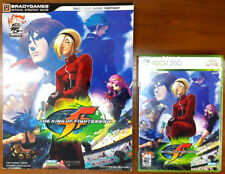 Xbox 360 Game - The King of Fighters XII c/w Official Guide - Both New