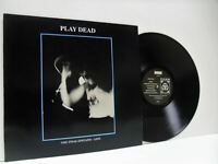 PLAY DEAD the final epitaph - live LP EX-/EX-, FREUD 15, vinyl, album, uk, 1987,