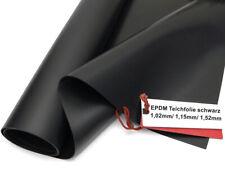 Firestone EPDM Kautschuk Teichfolie 1,02 mm / 1,15 mm / 1,52 mm  - ab 8,20 €/m²