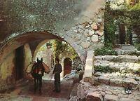 Alte Postkarte - Eze-Village