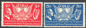 Ireland 1939 George Washington set Sc# 103-04 NH