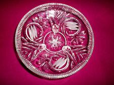 # #  schöne Kristall-Anbietschale auf 3 Füßchen  ~  Ø  21,5 cm  # #