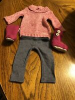 American Girl Doll Cozy Sweater Outfit EUC RETIRED