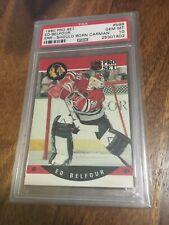 1990 Pro Set Ed Belfour PSA 10 Rookie Error Card!! RARE!!