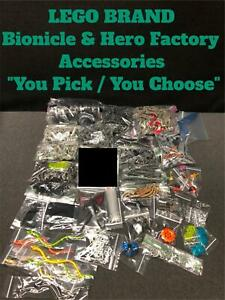 """LEGO BIONICLE HERO FACTORY ACCESSORIES ACCESSORY REPLACEMENT PARTS  """"YOU PICK"""""""