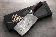 ZHEN Japanese VG-10 67 Layers Damascus Steel Light Slicer Chopping Butcher Knife