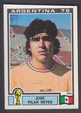 Panini - Argentina 78 World Cup - # 186 Jose Reyes - Mexico